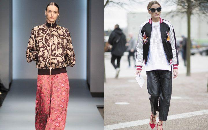 Стильные женские куртки бомберы осень-зима 2019-2020