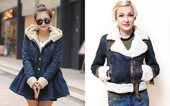 Стильные женские джинсовые куртки осень-зима 2018-2019