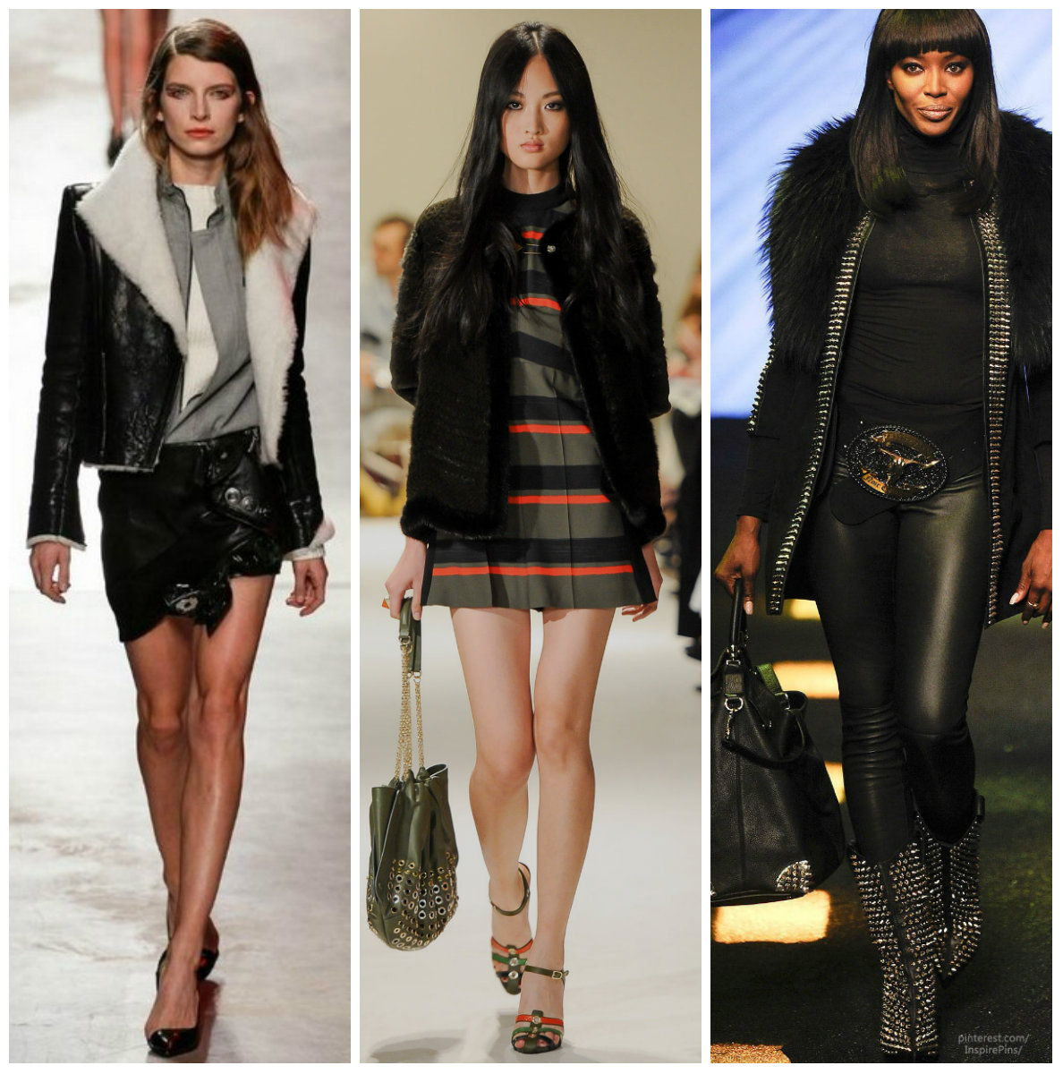 Модные косухи осень-зима 2018-2019