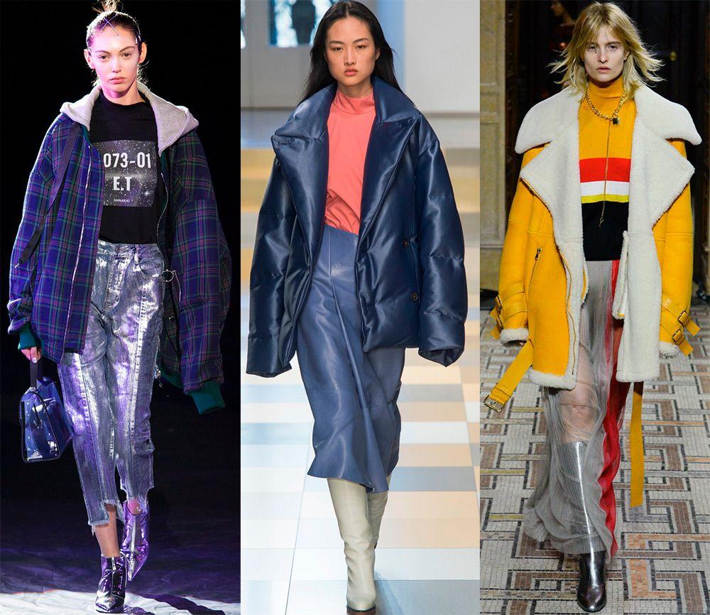 Модные куртки оверсайз осень-зима 2018-2019
