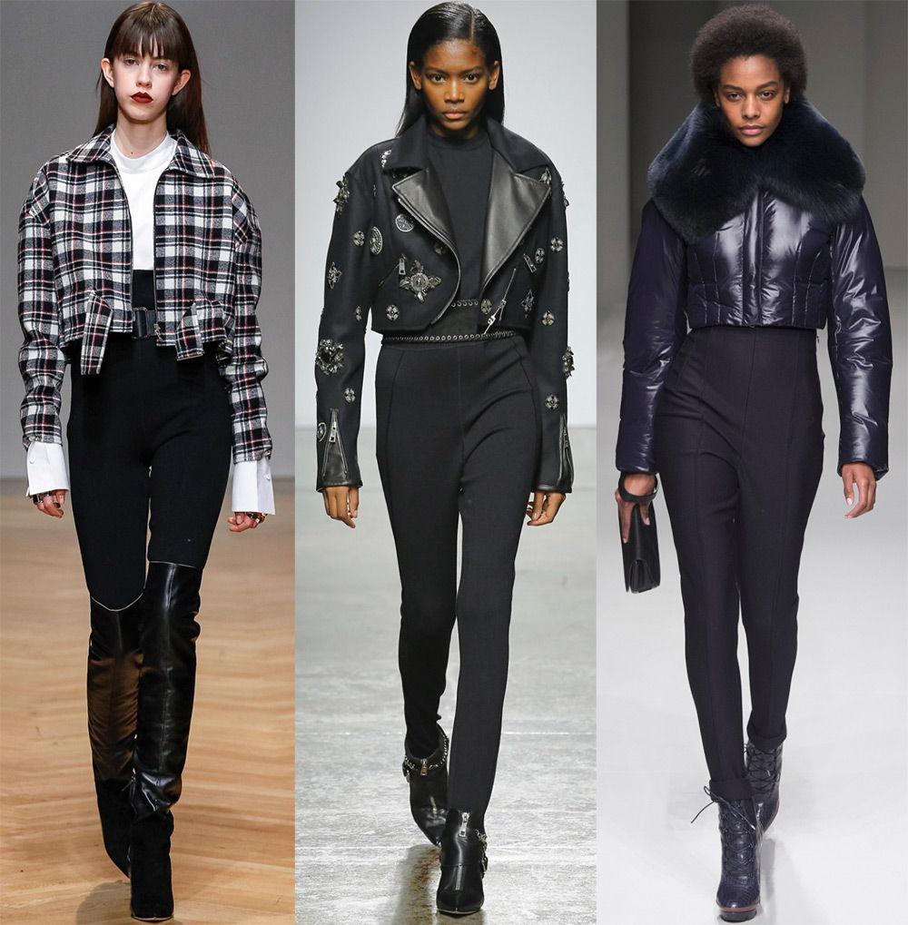 Стильные мини-куртки осень-зима 2019-2020