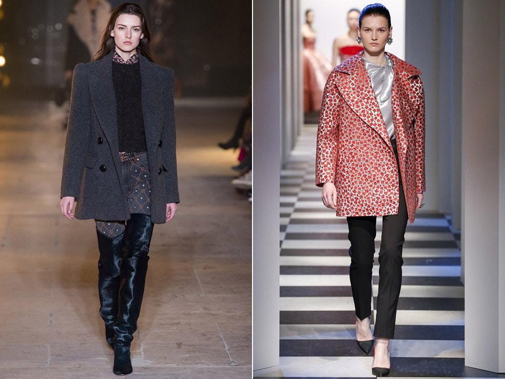 Стильные образы с пальто осень-зима 2019-2020