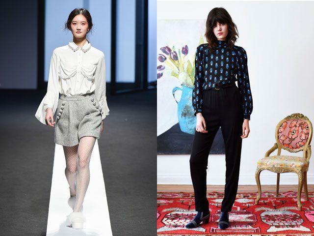 Стильные блузы осень-зима 2020-2021
