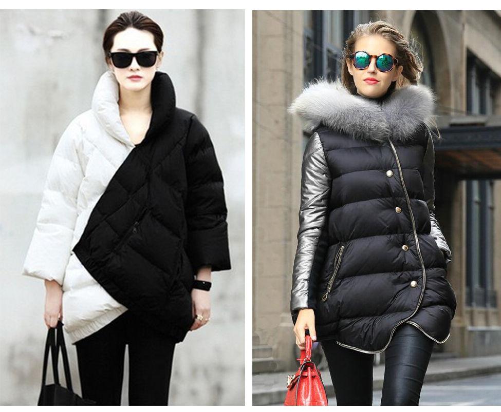 Модные расцветки женских пуховиков осень-зима 2018-2019