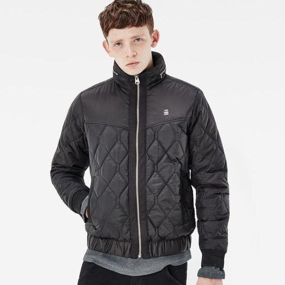 Стеганная куртка молодежная