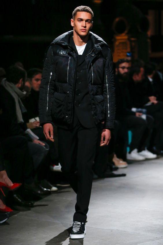 Стеганная куртка для мужчин