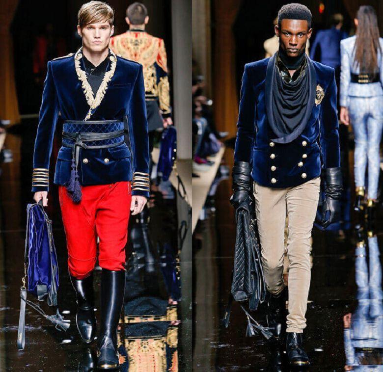 Бархатная мужская куртка