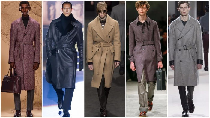 Классические мужские пальто