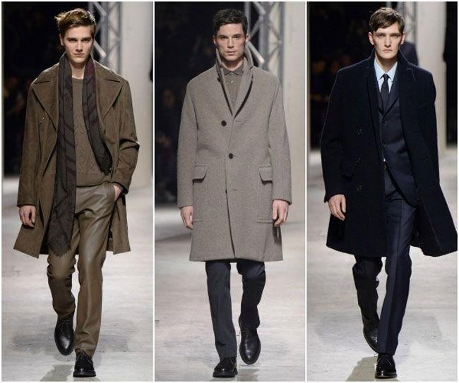 Мужское пальто классика
