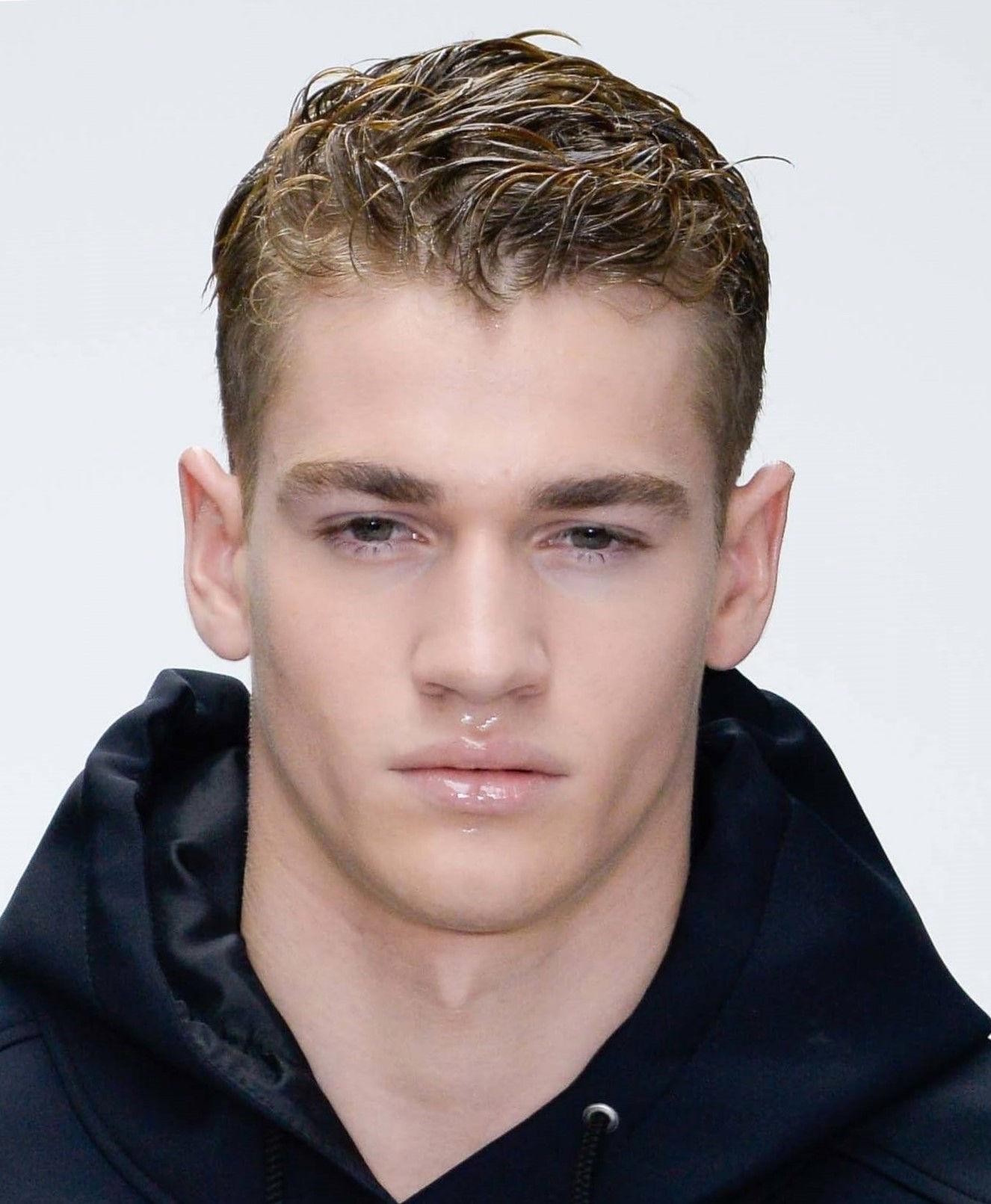 Мужские прически эффект мокрых волос