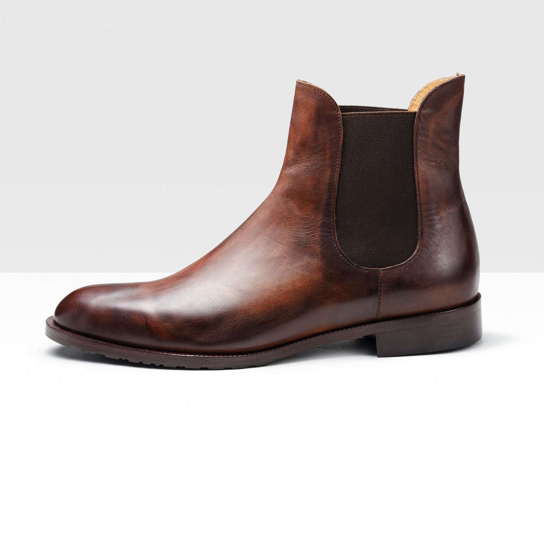 Дезерты-мужские ботинки