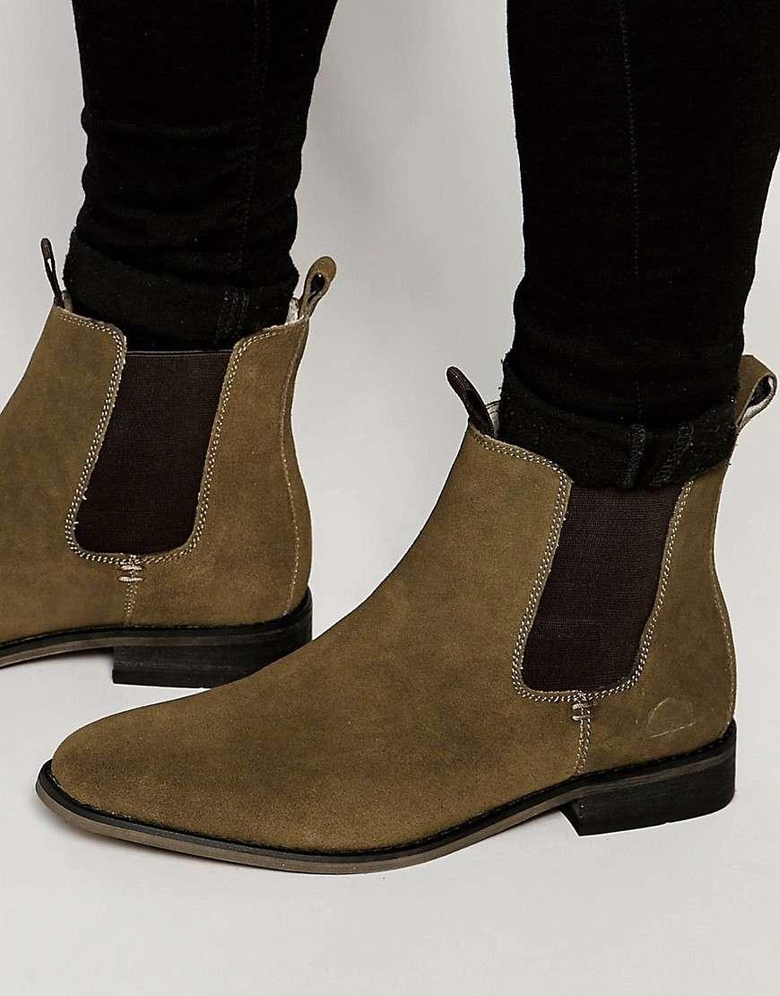 Замешевые ботинки