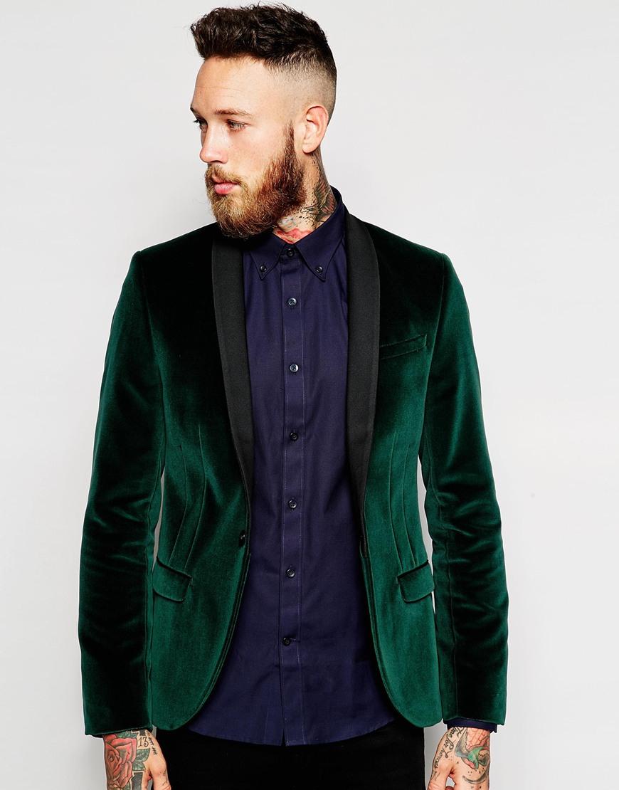 Пиджак из велюра
