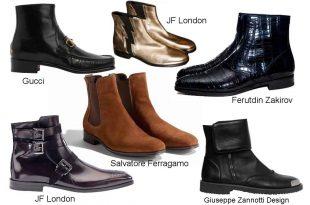 Разнообразие ботинок