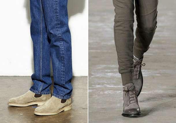 Модные ботинки для мужчин