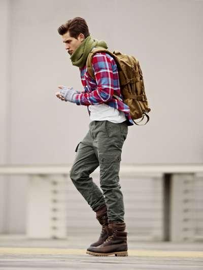 Серые брюки для мужчин