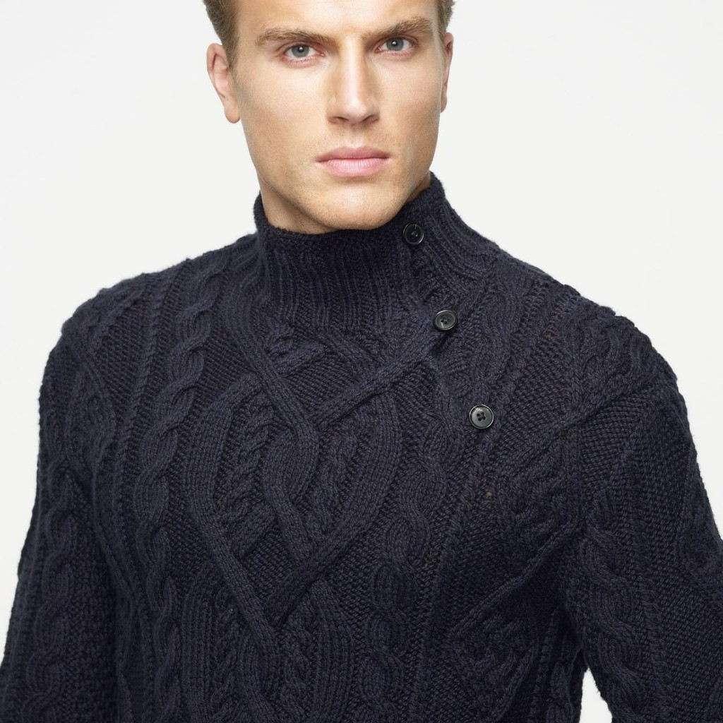 Осеенний свитер для мужчины