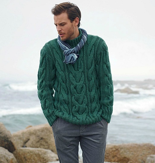 Модные мужские свитера осень-зима 2018 -2019