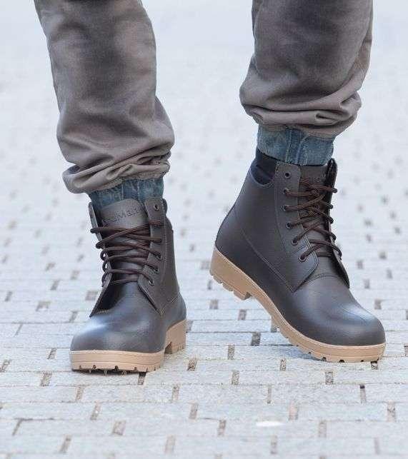 Ботинки прорезиненные