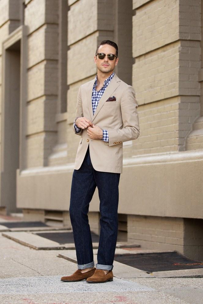 Классический пиджак для мужчин