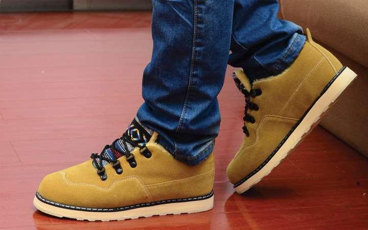 Ботинки спортивный стиль