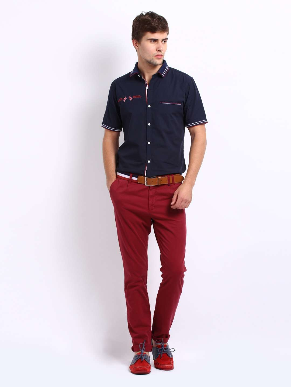 Стильные вельветовые брюки