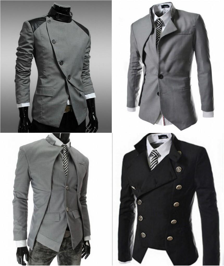 Ассиметричные модели пиджаков