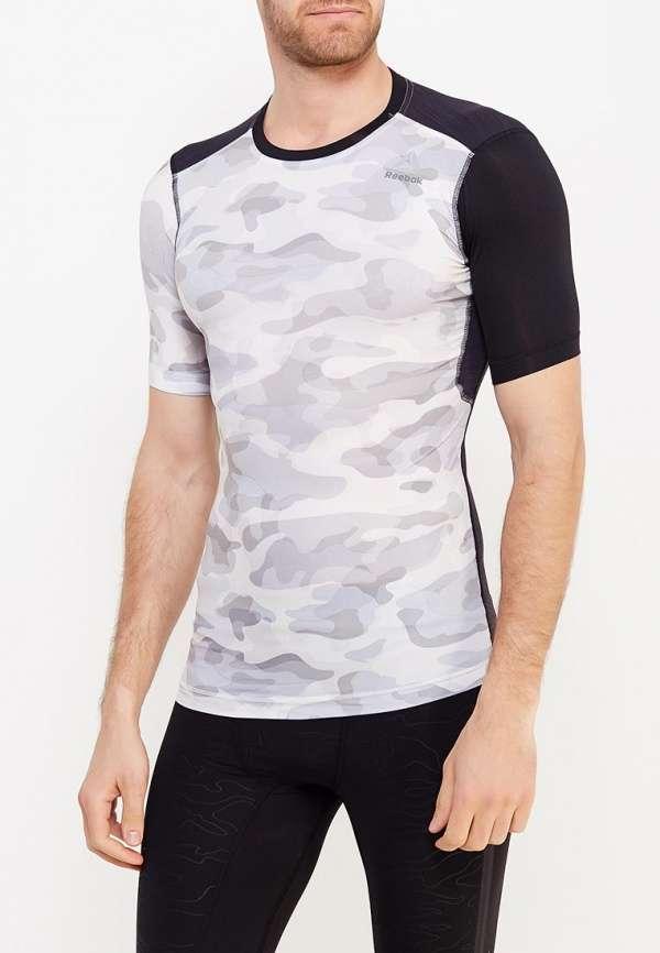 Спортивная комбинированная футболка