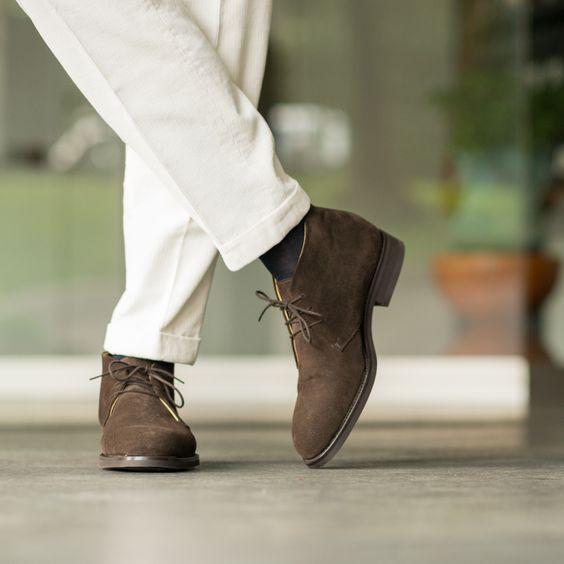 Замшвые туфли на осень