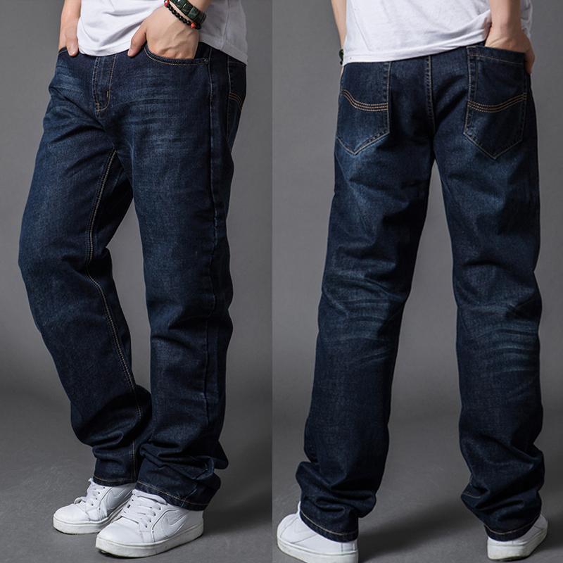 Синий цвет джинсов для мужчин