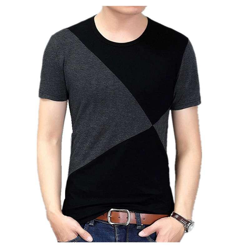 Сочитание материалов в футболках