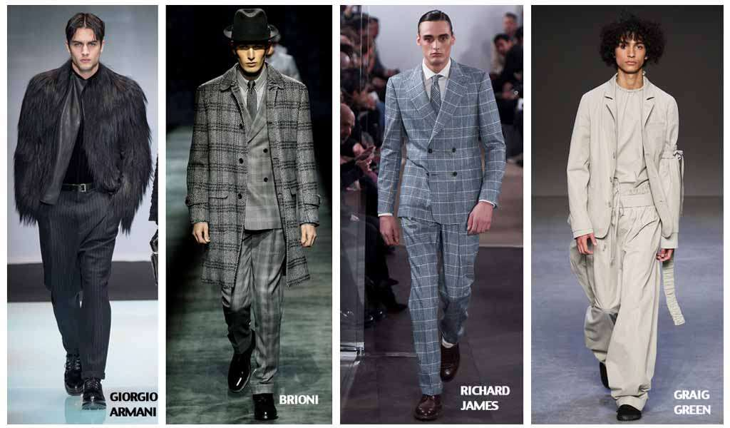 Мужские брюки с отворотами