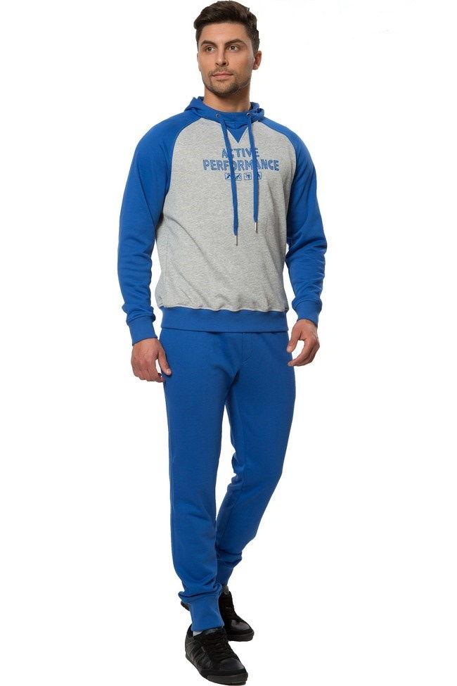 Комбинированный спортивный костюм для мужчин