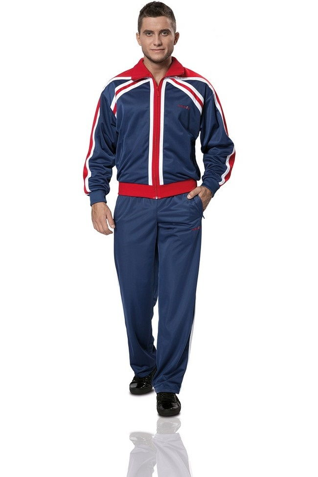 Темно-синий спортивный костюм мужской