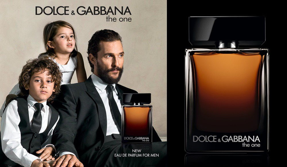 The One for Men от Dolce & Gabbana.