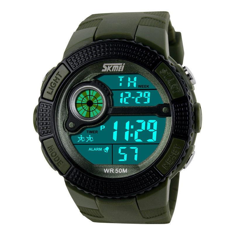 Спортивный дизайн часов