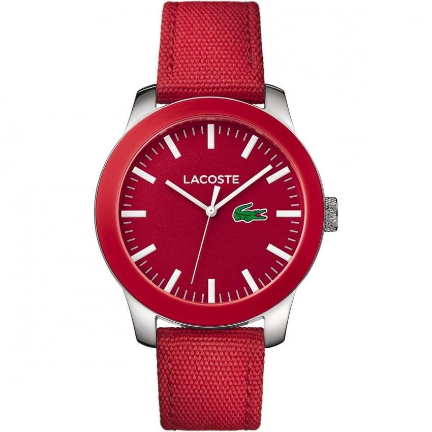 Часы в красном исполнении