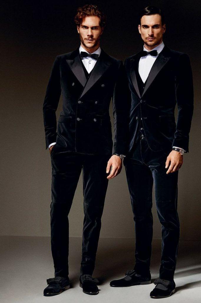 Бархатные костюмы для мужчин
