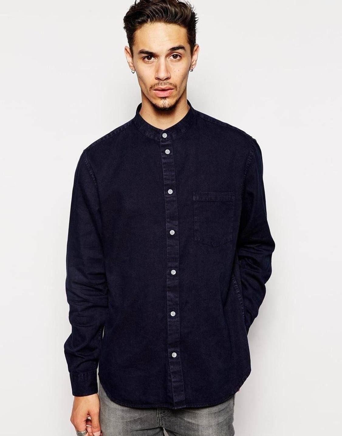 Черная рубашка на выпуск