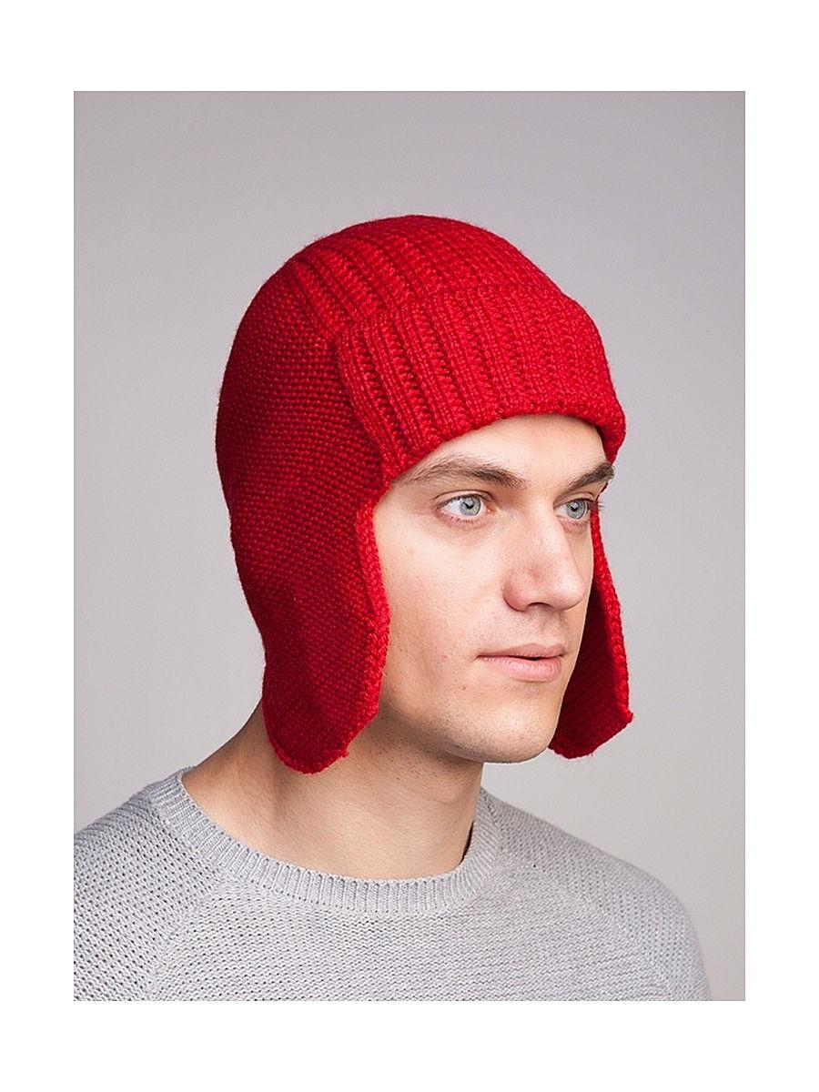 Красная шапка мужская