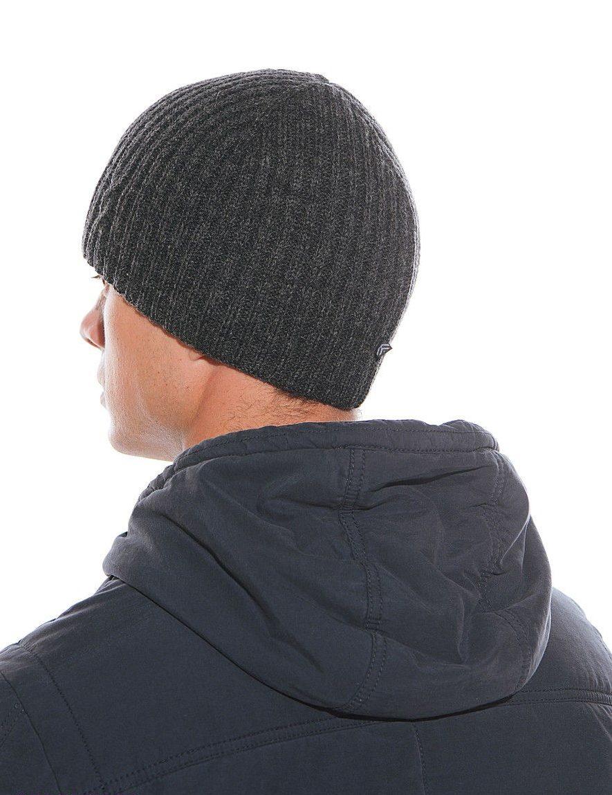 Английская резинка на мужской шапке