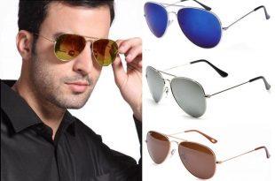 Разные линзы в очках от солнца