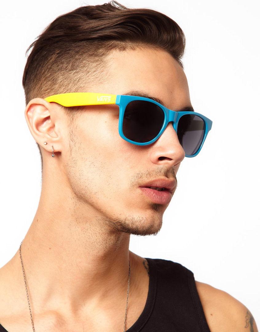 Двухцветная оправа солцезащитных очков