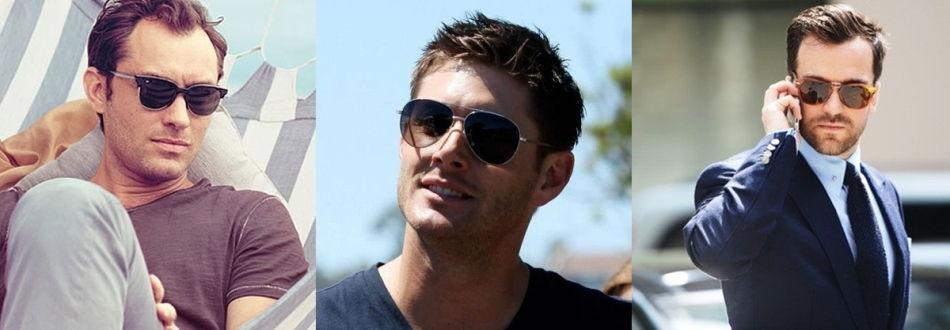 Стильные мужские солнечные очки