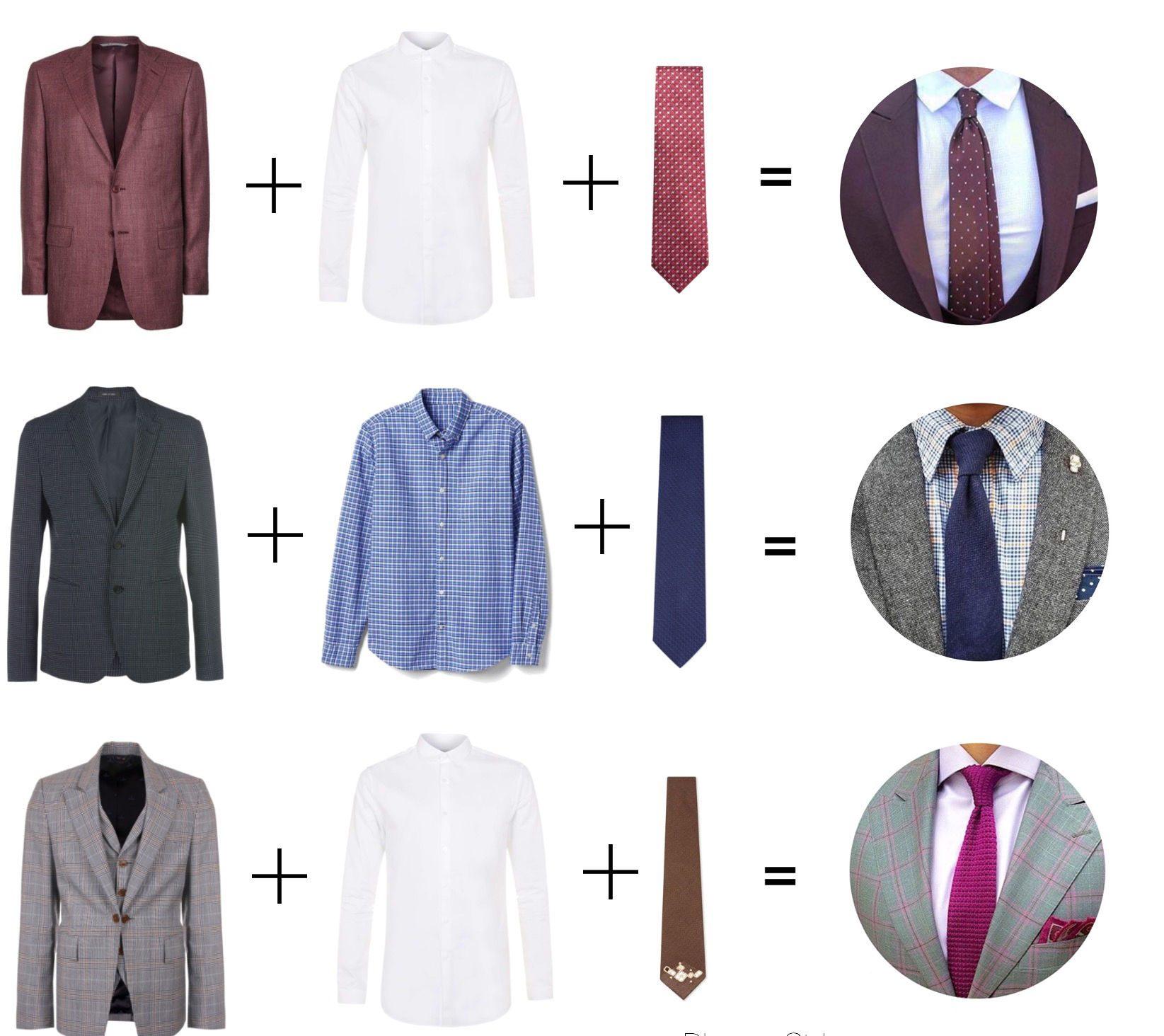 Подбираем галстук к рубашке