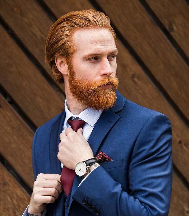 Борода для рыжеволосого мужчины