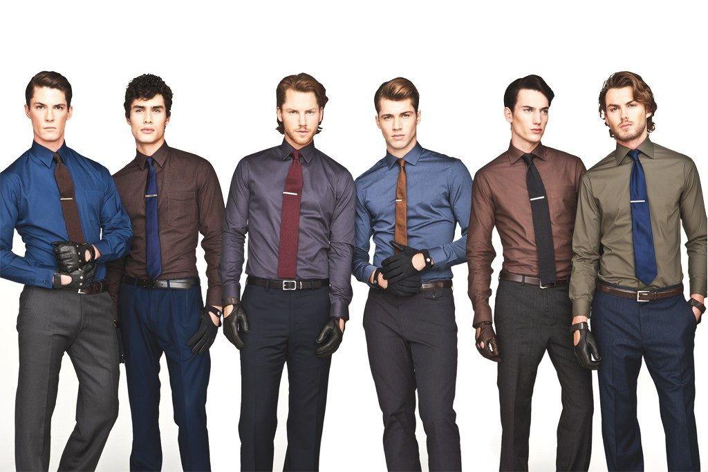 Правильная длина мужского галстука