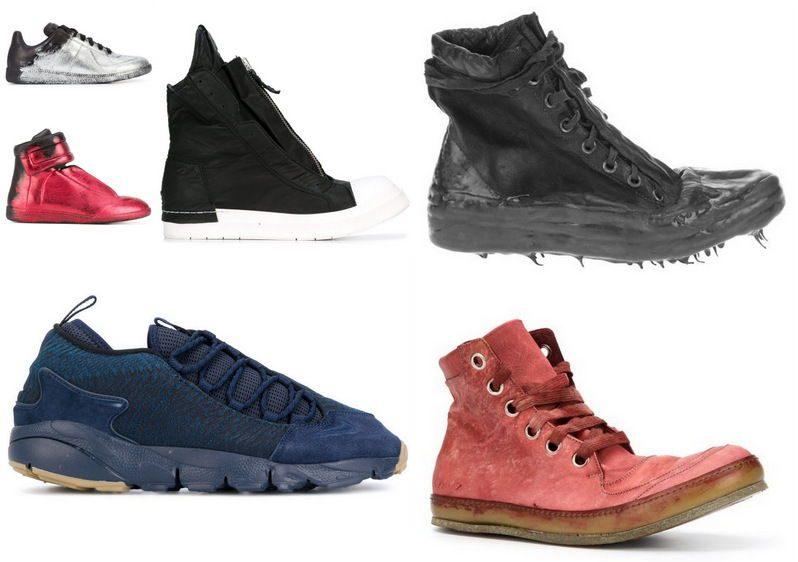 Необычные модели кроссовок