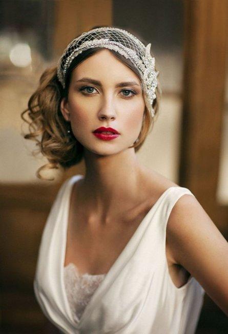 Бохо-шик в макияже невесты