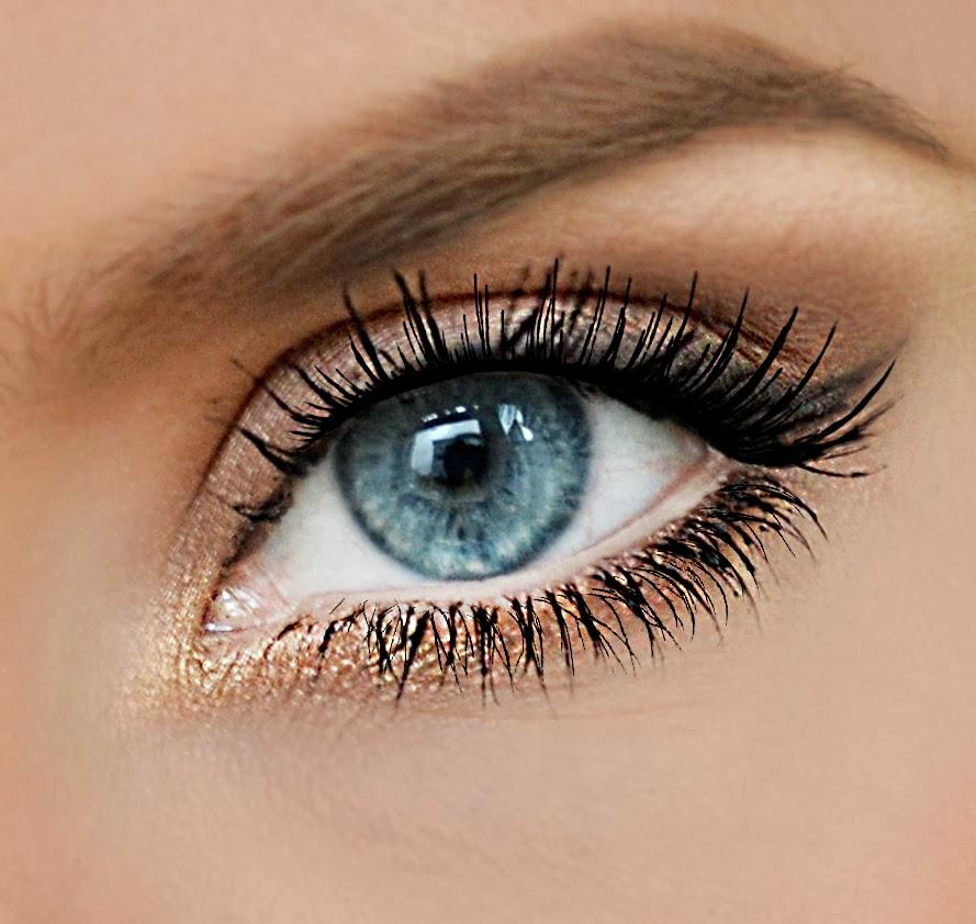 Акцент на глазах